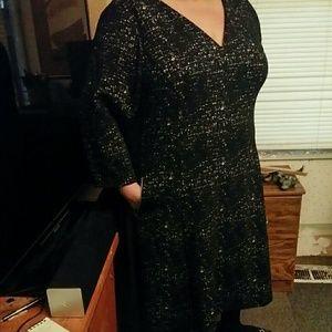 Lane Bryant A-line dress
